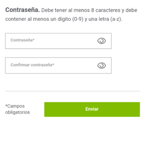 Oney contrasena