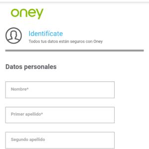 Oney identificate